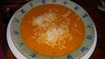 Blutgruppen Ernährung und Diät. Kochen nach Blutgruppe. Mediterrane Kürbsissuppe. Kürbissuppe mal anders ohne Sahne oder Kokosmilch.