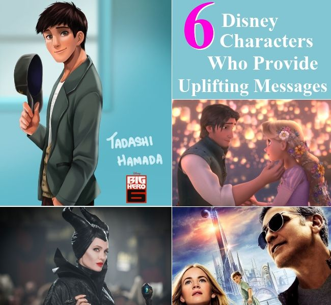 6 Disney Characters Who Provide Uplifting Messages To The Society