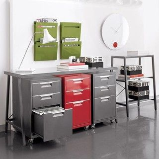 Modern Filing Cabinets And Carts