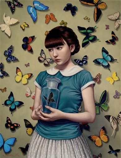 COLLECTOR | Shiori Matsumoto ノスタルジックな少女たちの世界を描く松本潮里の絵画作品集