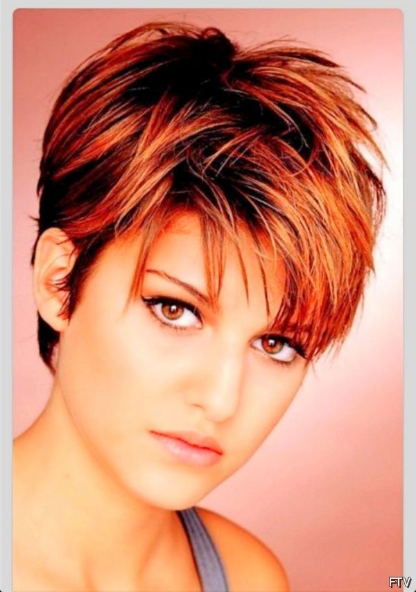 short haircuts for round faces 2016 - Google zoeken