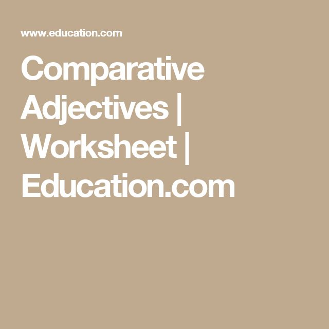 Middle School Math Word Problems Worksheets Pdf Oltre  Fantastiche Idee Su Comparative Adjectives Worksheet Su  Special Right Triangles 45 45 90 Worksheet Pdf with Worksheet For Toddlers Word Comparative Adjectives Comparative Adjectives  Worksheet  3rd Grade Word Problem Worksheets Excel