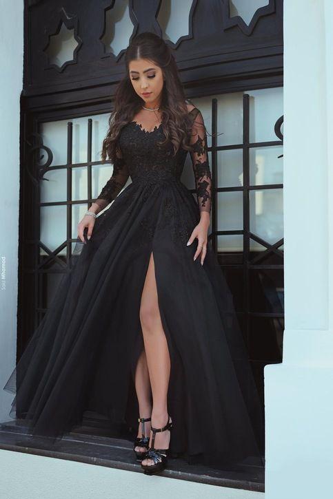 The 25+ best All black prom dresses ideas on Pinterest | Ball ...