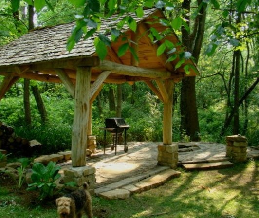 Backyard Fire Pit Landscaping Ideas: 25+ Best Ideas About Rustic Fire Pits On Pinterest