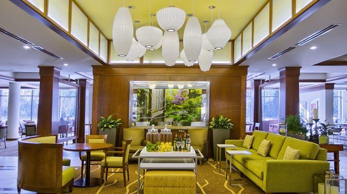 Hilton Garden Inn Durham/University Medical Center, NC - Hotel Lobby