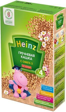 Каша Heinz гречневая безмолочная с Омега 3, 200 гр  — 94р. ----- Безмолочная кашка Heinz Гречневая с Омега 3 без добавления молока и соли  идеальна для начала прикорма, содержит 100% натуральные злаки, пребиотик для комфортного пищеварения, легко усваивается.    Реальный цвет может отличаться от представленного на сайте, ввиду различных настроек монитора.