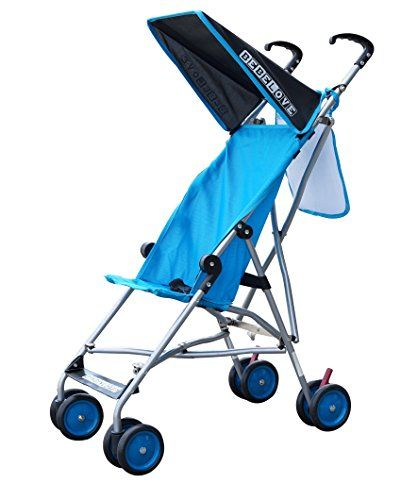 BeBeLove USA Blue Single Umbrella Stroller, Solid Sea. For price & product info go to: https://all4babies.co.business/bebelove-usa-blue-single-umbrella-stroller-solid-sea/