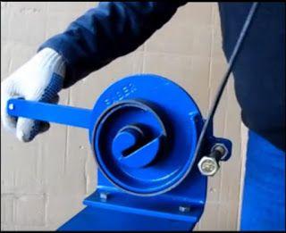 Dobladoras de Hierro - Herreria Artistica - Construccion: Maquina de Risos…