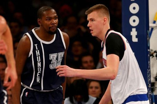 NBA scores 2016: Kevin Durant isn't ready to let Kristaps... #KevinDurant: NBA scores 2016: Kevin Durant isn't ready to let… #KevinDurant