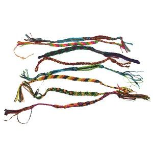Silk and woolen  friendship bracelet @ just $0.69
