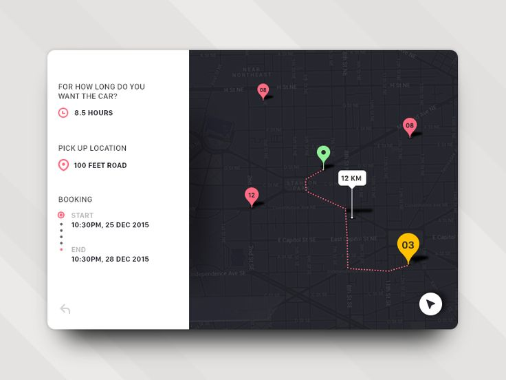 Map/Location UI Inspiration — Muzli -Design Inspiration — Medium