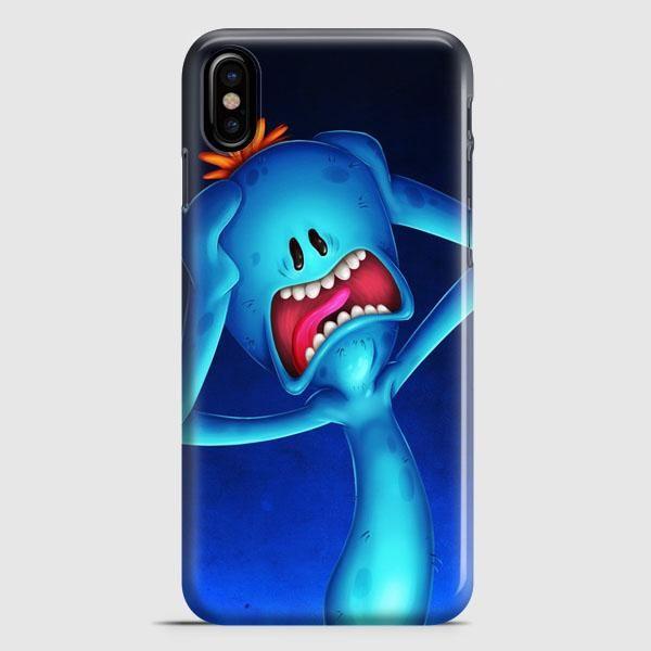 Mr Meeseeks Can Do iPhone X Case   casescraft