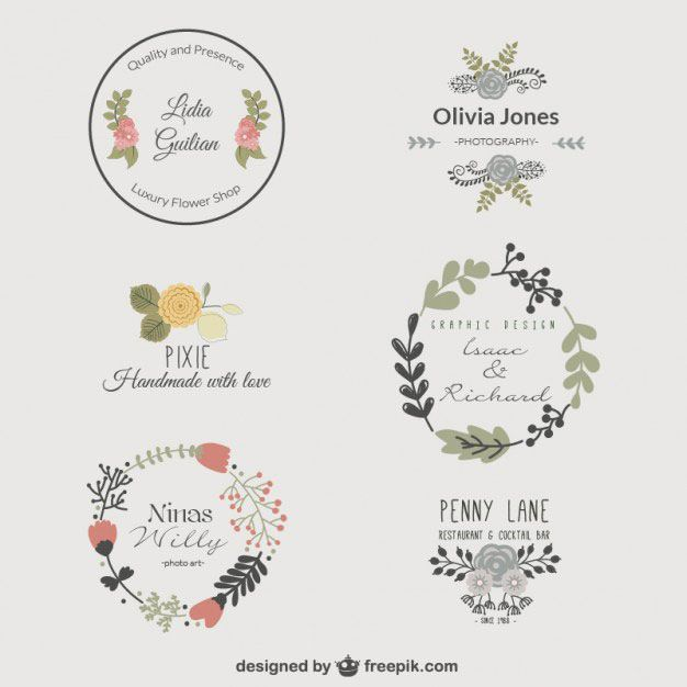 floral-logo-template