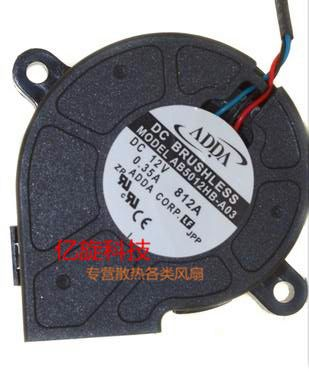 Find More Fans & Cooling Information about ADDA AB5012HB A03 5025 cooling fan with 12V 0.35A 5CM For Projector cooling fan,High Quality fan ac,China fan favor Suppliers, Cheap fan motor from William Electronic product Store on Aliexpress.com