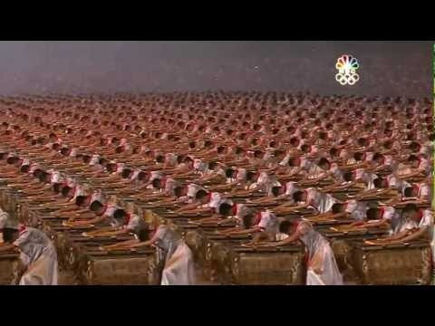 Quite possibly the most impressive thing I have ever seen + Beijing Olympics 2008 Drummers Opening Ceremony