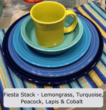 Fiesta Dinnerware Announces New Color Lapis A Denim Blue