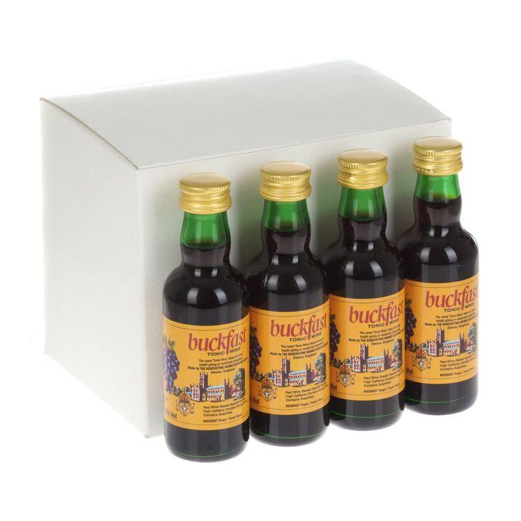 Buckfast Tonic Wine / Aperitif Miniature 5cl - 12 Pack   Just Miniatures