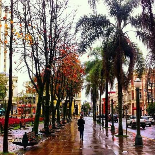Praça Dante Alighieri - Centro - Caxias do Sul - Rio Grande do Sul.