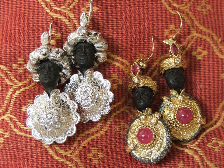 Black Moor - made by Novecento Gioielli (Padova - Italy)