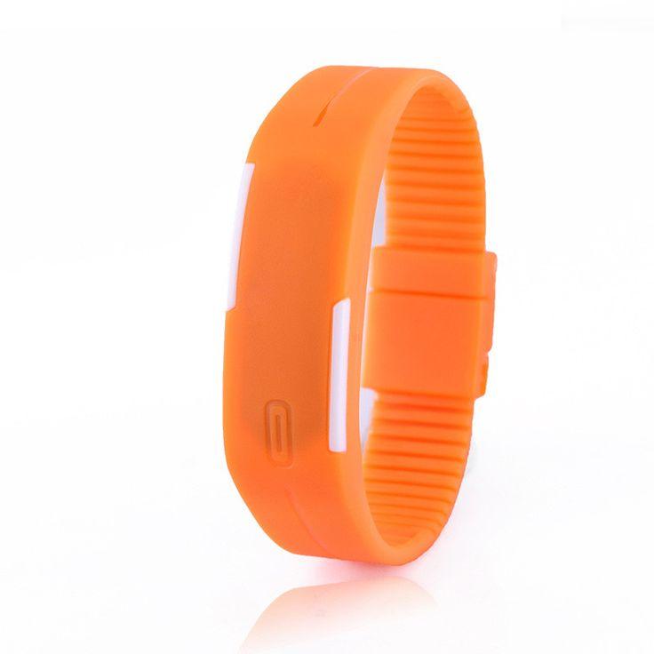 SESEDEN New Fashion LED Bracelet Digital Watches For Men&Ladies&Child Clock Womens Rubber Sports Wristwatch Saat