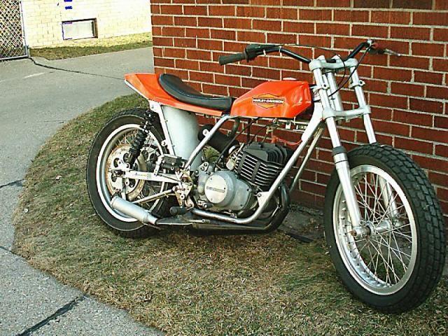 Image - FLAT TRACK MX 250 - AMF harley davidson 125 SS SXT - Skyrock.com