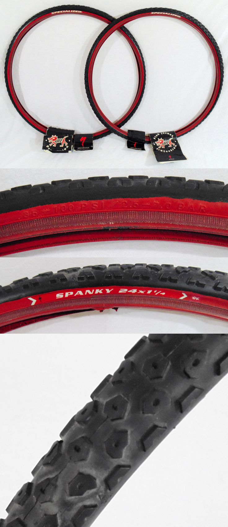 Other Bicycle Accessories 158998: 1 Pair Of Specialized Spanky 24 X 1 1 4 Tires New Old Stock 24 Bmx Cruiser -> BUY IT NOW ONLY: $49.99 on eBay!