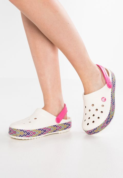 c9df1cbf84eef Crocs CROCBAND GALLERY - Sandals - oyster for £39.99 (13/02/18) with free  delivery at Zalando