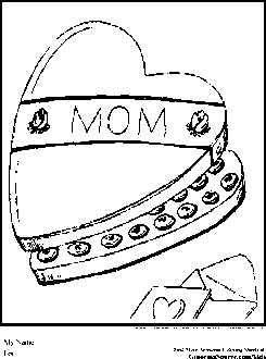 Valentines Day Coloring Pages Mom