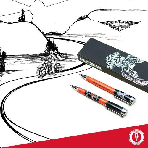 Harley Davidson kalemler, özgürce yazıp çizmeniz için Gümüş Kalem mağazalarında sizi bekliyor! www.gumuskalem.com.tr