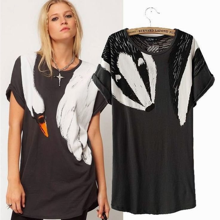 let's shop here : Swan/Racoon Blouse