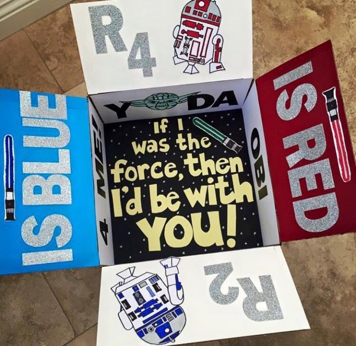 Military Care Package Star Wars, R2D2