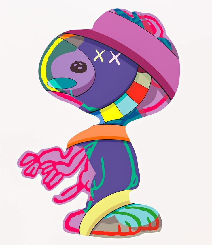 THE THINGS THAT COMFORT #kaws #paceprints @paceprints