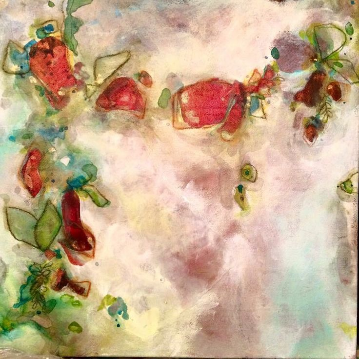 """Kate Ryckman  2015 """"Together we will find a way"""" 12x12"""" Study"""