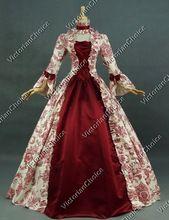 Custom Made-Período Georgiano Victorian Brocade Vestido de Baile Reconstituição Stage Punk/traje do Estágio(China (Mainland))