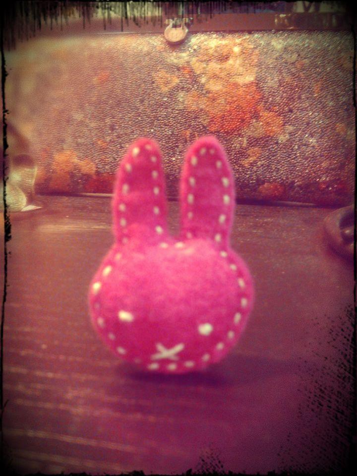 Miffy ring (handmade)