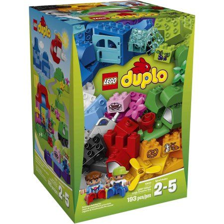 Lego Duplo My First Lego Duplo Large Creative Box - Walmart.com