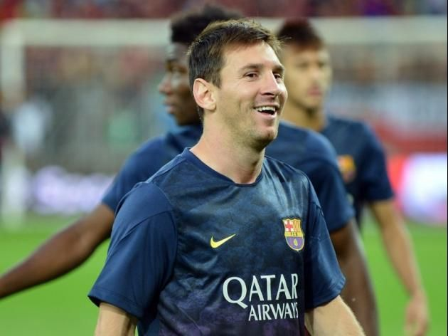 Who Needs Playstation when you have Messi in team: Barcelona F.C Coach