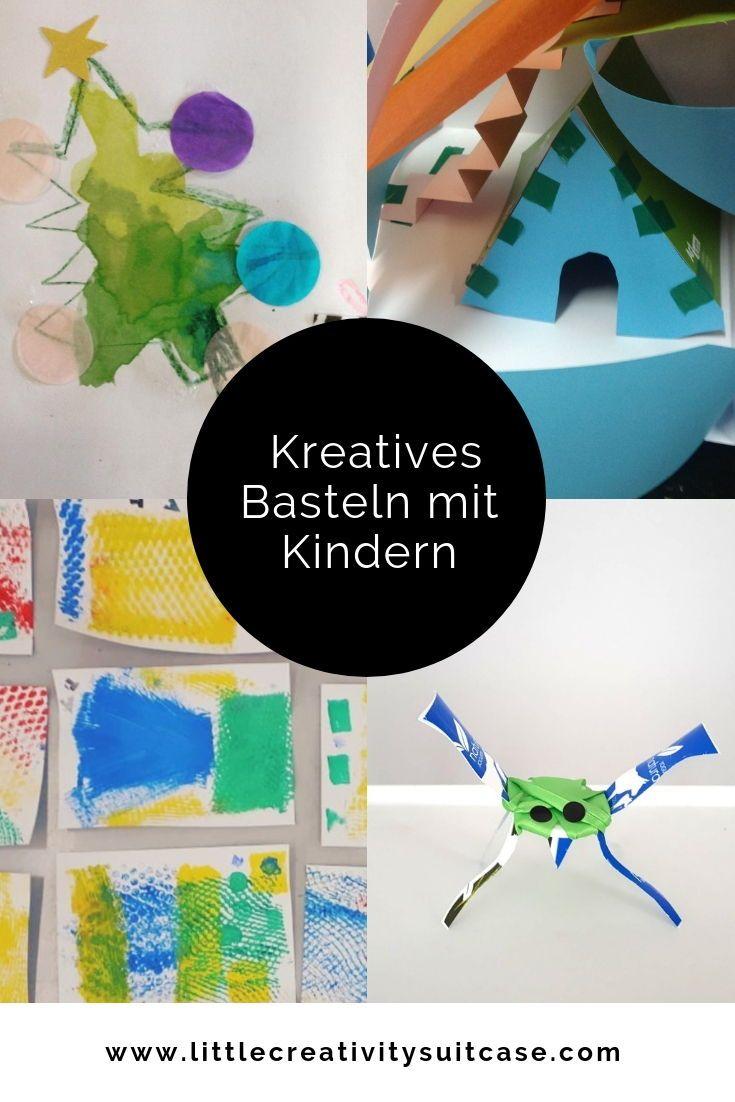 Viele Tolle Ideen Um Mit Farben Formen Und Materialien Die Vorstellungskraft Und Das Sinnliche Experimentieren Deiner Kleinen Kreativ Kreativ Basteln Basteln