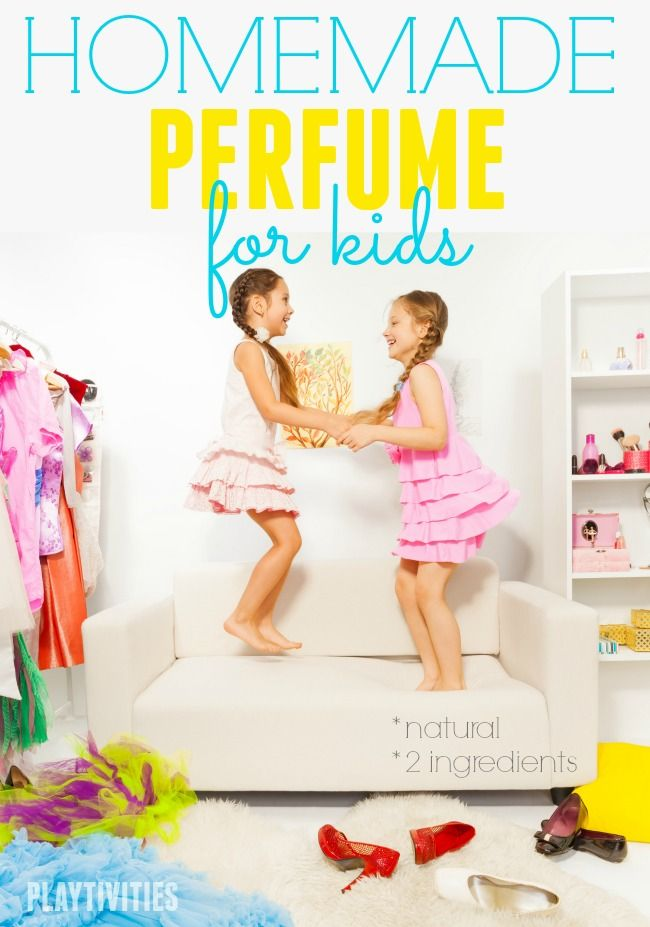 Homemade Perfume For Kids With Only 2 Ingredients