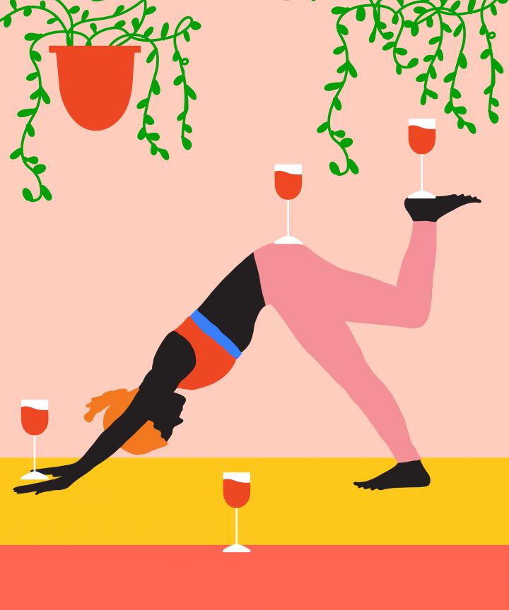Drunk Yoga Is A Fitting Response To These Times