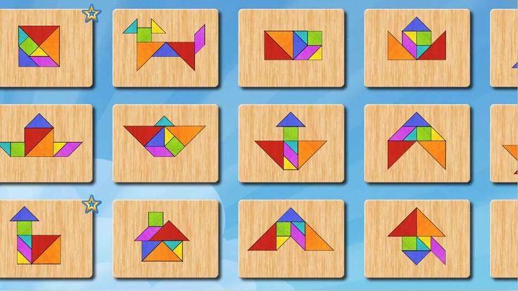 Tangram puzzle for kids – logické myslenie pre deti