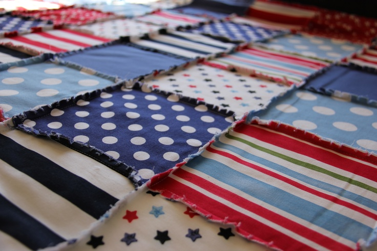 Stars And Stripes - Custom made quilts and duvet covers by Unique Design