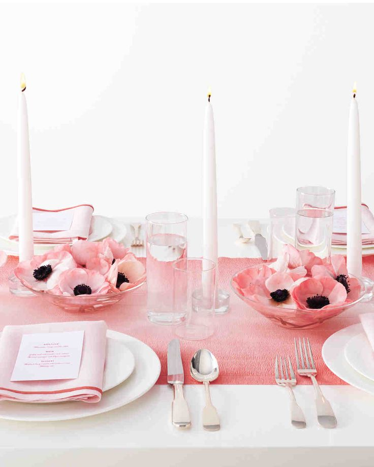 These four runners—surprise!—technically aren't runners. We reimagined inexpensive and portable everyday products to make gorgeous (if we do say so ourselves) dinner settings.