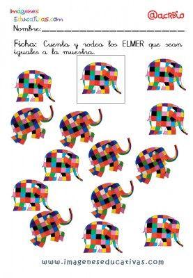 Elmer Elefante atención y grafo (19)