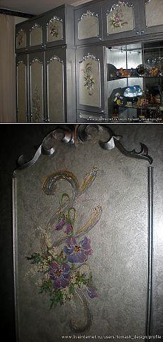 Мастер - класс от Томаш Ольги. Покраска и роспись мебели.