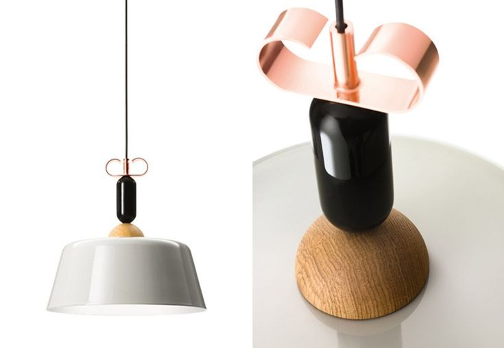 A feminine approach to lighting. The Bon Ton is modelled after a woman's pendant earring. Classy and sophisticated. 
