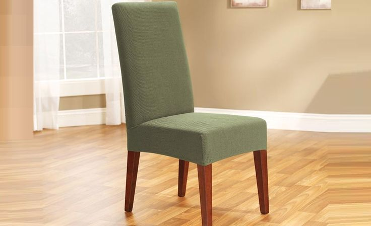 Sage Pearson Dining Chair Cover by Sure Fit