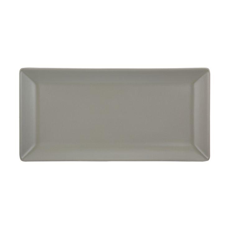 Matte Serving Platter - Taupe   Kmart