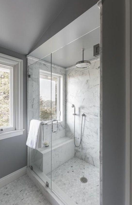 As 25 melhores ideias de Chuveiro de teto no Pinterest  Decoração banheiro b -> Decoracao Banheiro Chuveiro