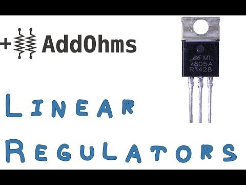 Linear regulator - YouTube